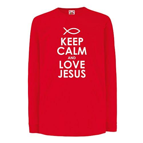 This guy/girl loves Jesus Couple Shirt (White) - 2