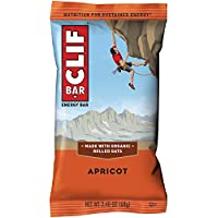 CLIF BAR - Energy Bars - Apricot - (2.4 Ounce Protein Bars, 12 Count)