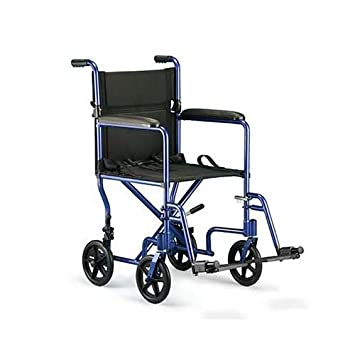 Invacare Aluminum Transport Chair Blue  sc 1 st  Amazon.com : chair transport - Cheerinfomania.Com