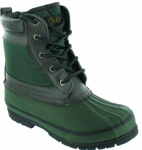 Highlander Morton Olive/Brown Size 6 - Calzado de zapatillas de senderismo para hombre