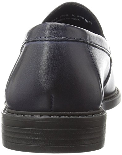 Cole Haan Womens Pinch Campus Penny Loafer Marine Blue Handstained Leather 8gKZqsbb