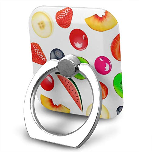 - Cell Phone Holder Watermelon Strawberry Peach Ring Mobile Phone Holder Adjustable 360° Rotation Finger Ring Stand for IPad, Kindle, Phone 6s/7/8/8 Plus/7, Divi, Smartphone