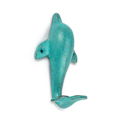 Abbott Collection 27-IRON AGE/358 Dolphin Wall Hook