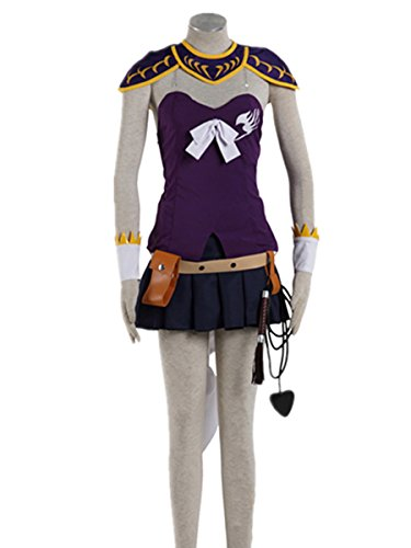Love Fairy Tail Uniform Cosplay Costume-Lucy 8Pcs Set
