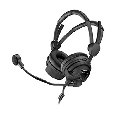 Sennheiser HMD 26-II-100-8 Broadcast Headset, 100 Ohm Impedance, 40 to 16.000Hz Frequency Response, ActiveGard, Dynamic Microphone from Sennheiser