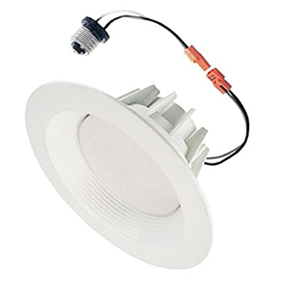 "Morris 72631 LED Recessed Lighting Retrofit Kit 8"" 35W 5000K Baffled Bezel"