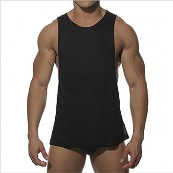 Swallowuk Débardeur homme pour culturisme, sport, fitness, musculation noir Noir L musculation noir Noir L