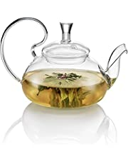 Herbata SOUL szklany czajniczek ze stali nierdzewnej wylewka 500 ml, 17 x 12 x 11,7 cm