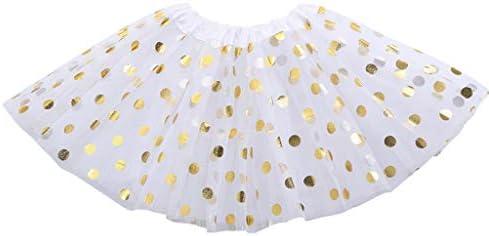 Haptian Niños Niña pequeña Capas múltiples Falda de tutú Plisada ...