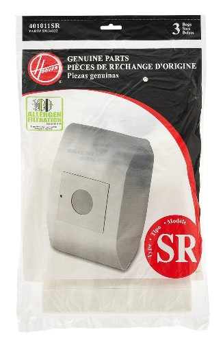 - Hoover 401010SR Allergen Filtration Vacuum Cleaner Bag