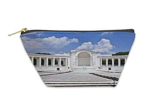 Arlington Amphitheater (Gear New Accessory Zipper Pouch, Memorial Amphitheater At Arlington National Cemetery, Large, 5654059GN)
