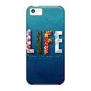 OdJLi12003gcxCr Tpu Phone Case With Fashionable Look For Iphone 5c - Life It Goes On