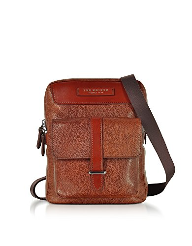 0529172f75 The Bridge Man Brown Leather Messenger Bag
