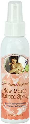 New Mama Bottom Spray, Naturally Soothing, Safe for Pregnancy and Postpartum (4 Fl. Oz.)