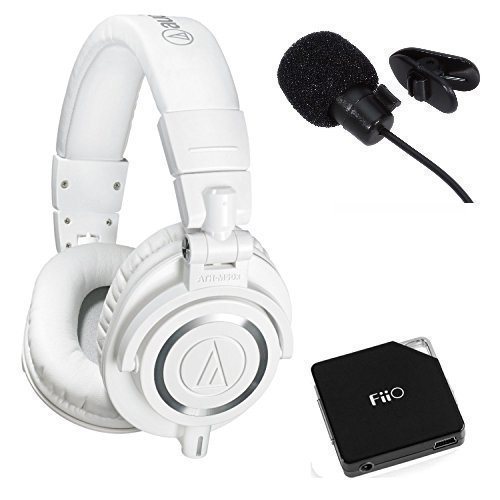 Audio-Technica-ATH-M50xWH-Professional-Studio-Monitor-Headphones-Deluxe-Bundle