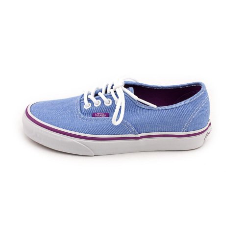 Zapatillas Vans Mujeres Authentic Skate Blue / Sparkling Grape