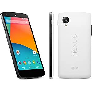 Google Nexus 5 Unlocked GSM Phone, 32Gb (White) D821 - No 4G in USA - 'International Version No Warranty'