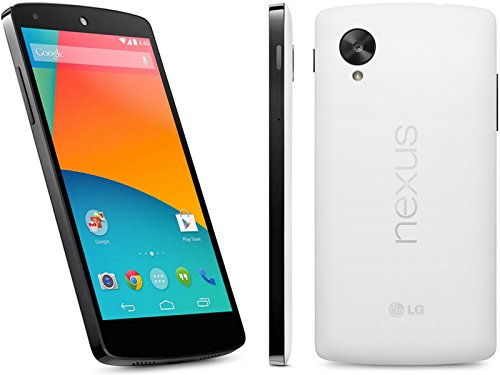 Google Nexus 5 Unlocked GSM Phone, 32Gb (White) D821 - No 4G in USA - 'International Version No Warranty' -  Nexus5-32GBWhite