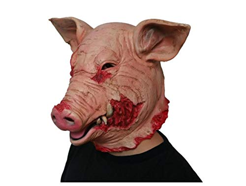 Halloween Mask Halloween Mask Horror Saw Blood Pig