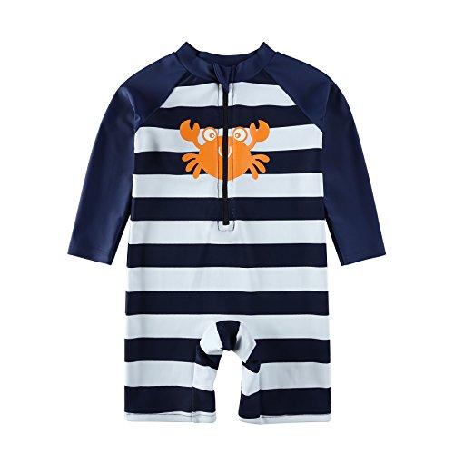 Vivafun Baby Boy Rash Guard Swimsuit UPF 40+ Sun