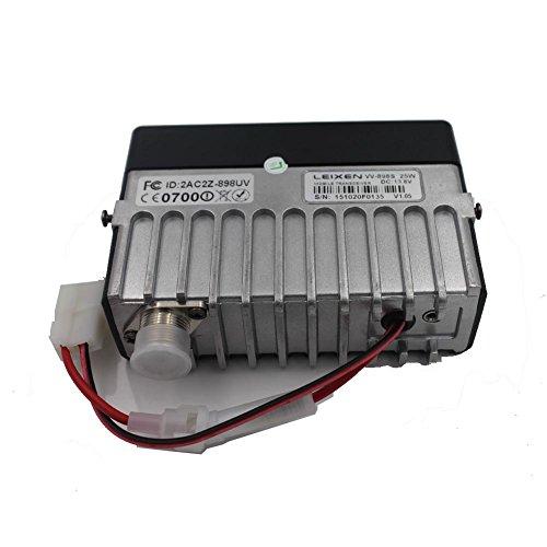 LEIXEN VV-898S 25W FM VHF UHF Dual Band Car Radio USB Cable