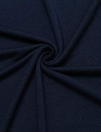 MAXMODA Donna Camicia da Notte Comodo Casual Semplice Pigiami Camici Vestaglia Camicia da Notte Manica Corta Scollo a U Elegante S-XXL