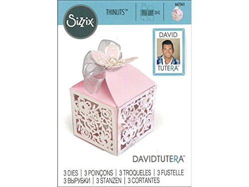Sizzix Thin - Sizzix Dtutera Thinlits Die Favor Box Butterfly