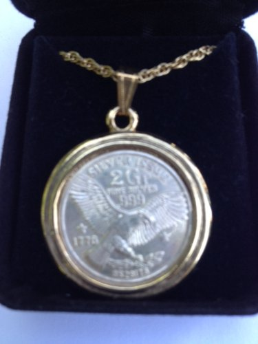 Token Vintage Coin - Sterling Silver Rare Vintage Medallion Flying Eagle Collectible Token Gift Boxed Great Unique Holiday Gift