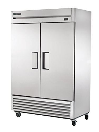 True T-49-HC Reach-in Solid Swing Door Refrigerator with Hydrocarbon Refrigerant, Holds 33 Degree F to 38 Degree F, 78.625