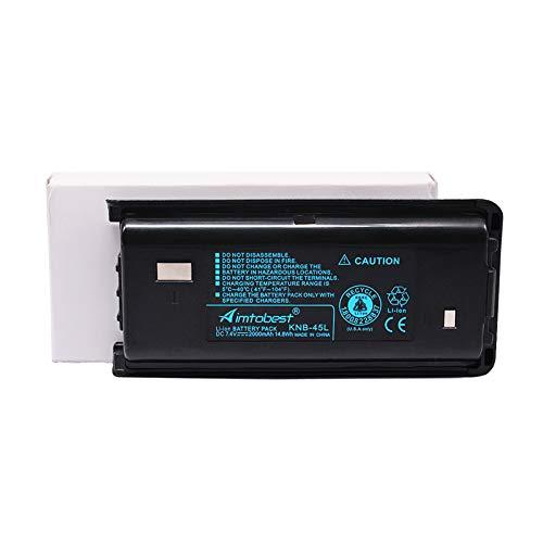 KNB-45 KNB-45L 2000mAh Li-ion Battery Compatible for Kenwood