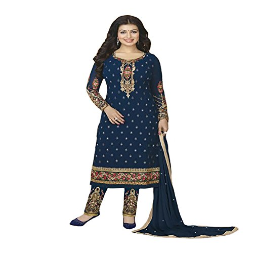 Eid Muslim Women Wear Dress Party Western Gown Ethnic Designer Hijab Indian Straight Salwar Kameez suit 8804