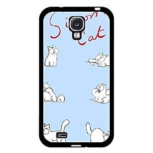 Simon'S Cat Hard Funda Custom Simons Cat Image Sanp On Samsung Galaxy S4 Fashion Style Simon'S Cat Protetcive Funda