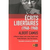 Écrits libertaires [nouvelle édition]: 1948-1960 /