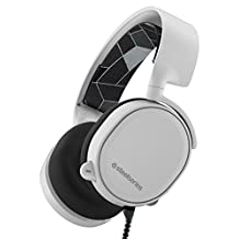 SteelSeries Arctis 3 Gaming Headset with 7.1 Surround for PC, PlayStation 4, Xbox One, VR, Android and iOS - White