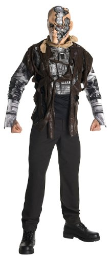 The Terminator Fancy Dress Costume (Rubies Costume Co. Terminator Salvation Movie Costume Deluxe T600, Adult XL)