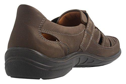 Jomos Chaussures de Ville à Lacets Pour Homme Marron Gris