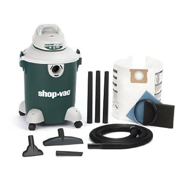 Shop-Vac 5981000 10-Gallon 3.5 Peak HP Quiet Plus Series Wet Dry Vacuum