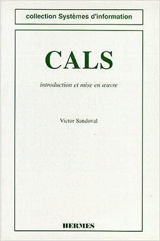 Télécharger en ligne CALS. Introduction et mise en oeuvre epub, pdf