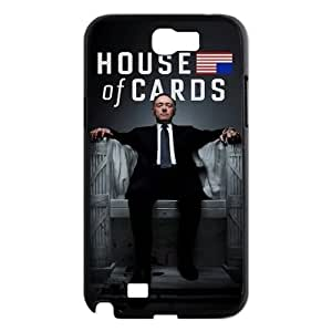 DIY Protective Hard Plastic Case for Samsung Galaxy Note 2 N7100 - House Of Cards customized case at CHXTT-C