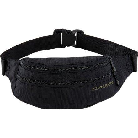 Dakine Classic Hip Pack (Black, 9 x 5 x 3-Inch), Outdoor Stuffs