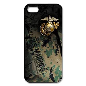 FashionFollower Custom US Marine Corps Best Phone Case Suitable for iPhone 5 IP5WN101706