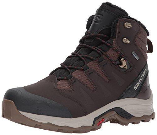 Black Coffee Salomon Dalhia Brown Boots Winter Black Men's GTX 723 Rise Low Red Black Hiking Quest qPzq61S