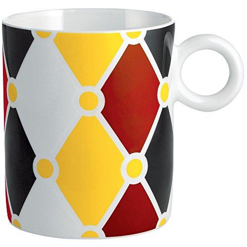 Alessi MW58 1 Decorative Circus,Mug Multicolor