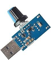 F Fityle Mute USB Fan Controller Volume Control Regulator Switch DC4V-12V 5W