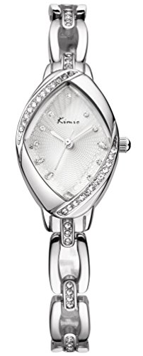Women's Luxury Rhinestone Watchcase Silver Steel Watch - Luxury Watch Steel