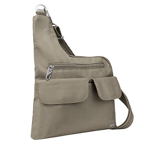 Travelon Anti-Theft Cross-Body Bag, Stone