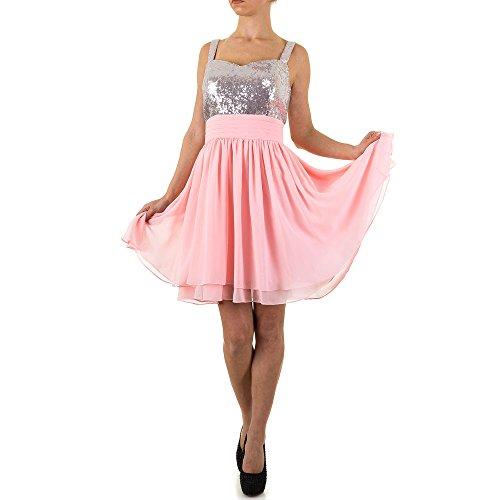 Pink Kleid Abend Ital Pailletten bei Für Damen Festamo Design 1ZOUfqxw