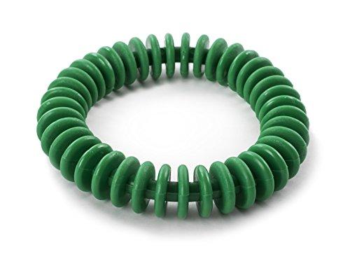 "360 Athletics Flexible Diving Rings – 6"" Diameter, Vinyl, Weighted, Green – Single Ring"