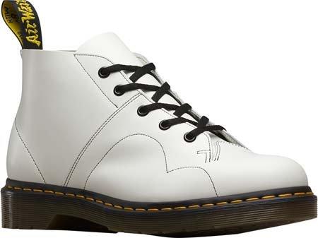 Dr. Martens Men's Church Smooth Chukka Boot, White, 6 UK/7 M US (Church Monkey Boot)