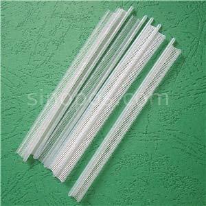Kamas Micro Nylon Pins T-end Mini, Clothes tach Plastic Staple Thread Tagging Gun Micro Fasteners tach barbs Extra fine Fabric Bullets - (Color: Clear, Size: ()